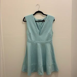 Blue mint dress